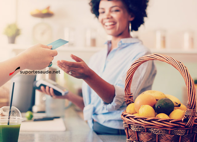 Alimentos orgânicos em casa